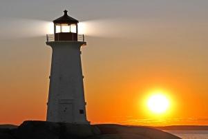 Lighthouse beam