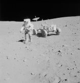 Lunar surface photos